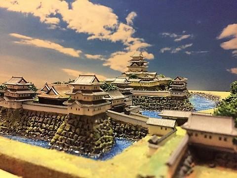 大垣城 お城 ジオラマ 完成品