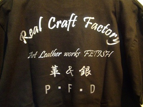 オリジナルTシャツ(黒T×シルバー)