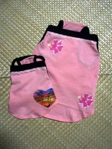 ハワイアンキャミソール(ピンク)