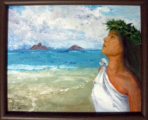 ハワイアンアート(ALOHA)