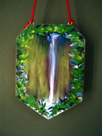 アートボード(アカカの滝)