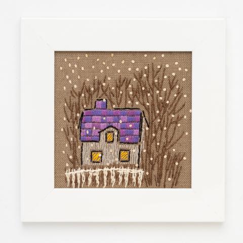 B20 小さな家の四季・冬