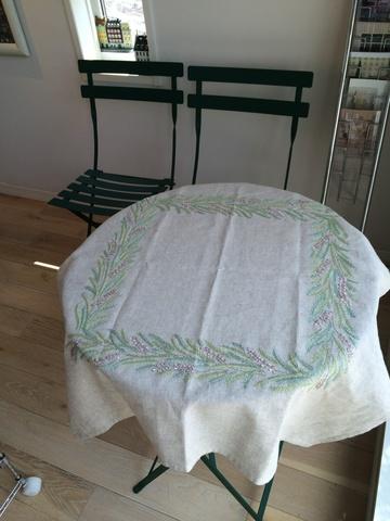 エリカのテーブルクロス(仕立済)