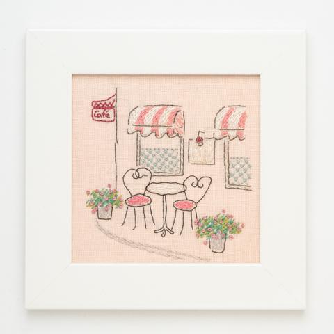 B08 ピンクのカフェ