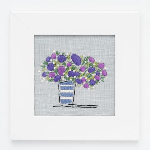B15 壺の花