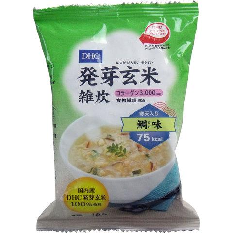 30食分(1食205円)DHC 発芽玄米雑炊〈コラーゲン・寒天入〉 鯛味 1食入 × 30食