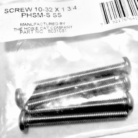 SCREW 10-32 X 1-3/4 PHSM-S SS