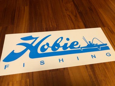 カッティングステッカー【Hobie】FHISHNG 特大