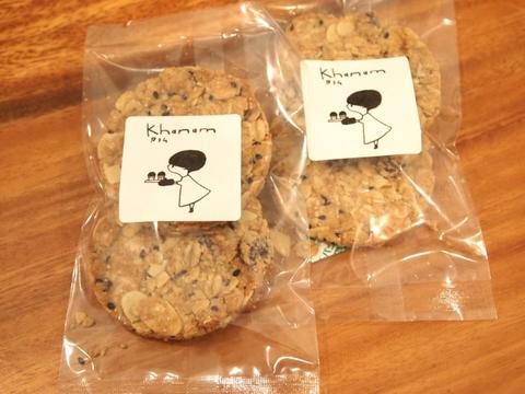 オートミールざくざくクッキー