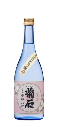 菊石 純米酒 夢ゆたか(箱入)720ml