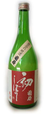 菊石本醸造もと初しぼり生酒(箱代込) 720ml