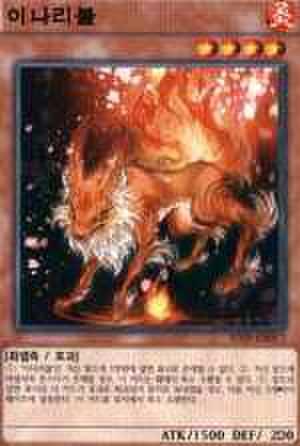 稲荷火 韓国 N [SD29-KR017]