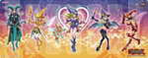 遊戯王プレイマット「ブラック・マジシャン・ガール」ローソン限定 [未使用・特典カードなし]