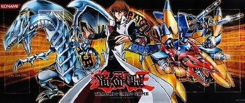 公式プレイマット:青眼の白龍 & 海馬 瀬人 & XYZ-ドラゴン・キャノン