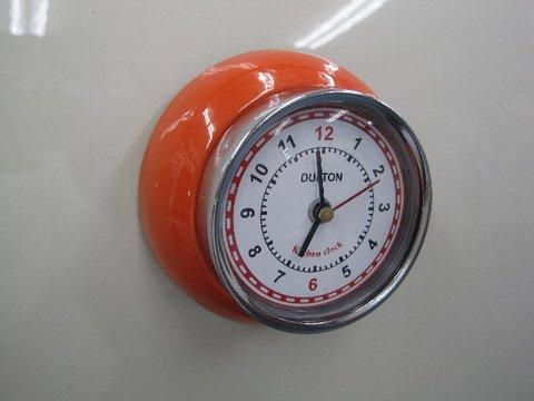 マグネットクロック(オレンジ)