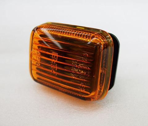 角型サイドマーカーレンズ オレンジ