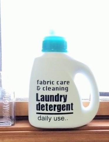 お洒落なオリジナル洗剤ラベルシール