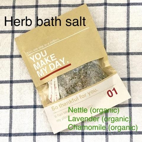 Herb bath solt (organic)