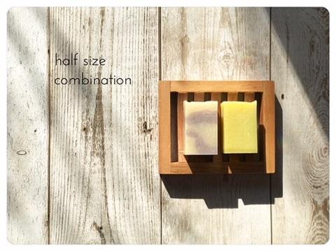 half size soap(Lavender×avocado)