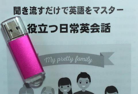 聞き流すだけで英語をマスター:役立つ日常英会話(USBメモリ版+教本)
