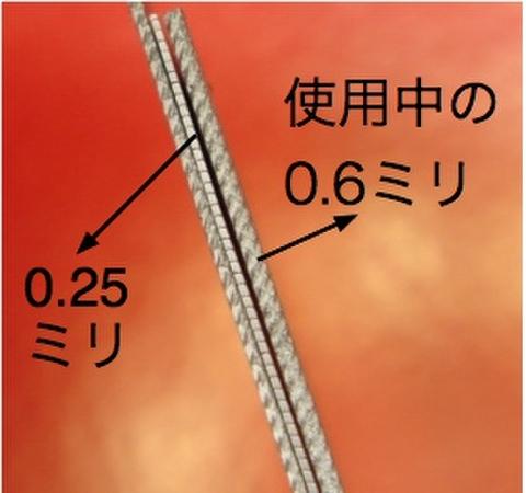 0.25ミリ 小刃ヤスリ
