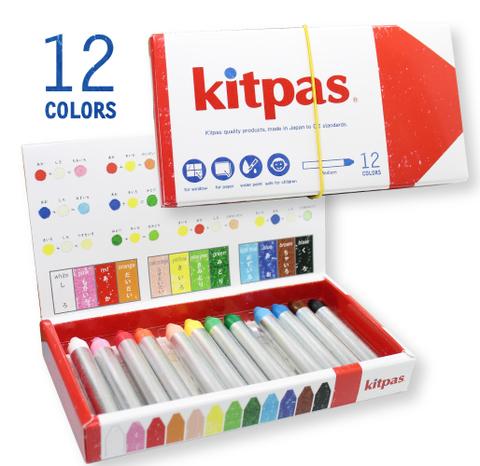 キットパスミディアム6色×3個12色3個セット