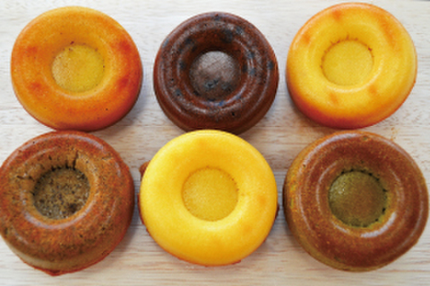 米粉のもちふわ焼きドーナツ《グルテンフリー》6個(6種類)セット