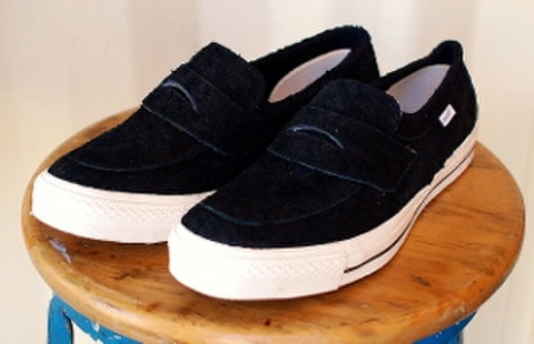 LOAF SLIP-ON SNEAKERS (BLACK)