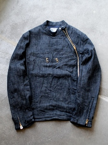 Single denim riders JKT