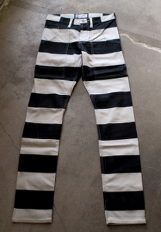 Prisoner stretch slim pants