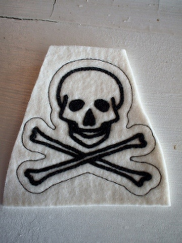 GENT-X SKULL PATCH