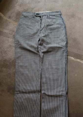 French work piping pants