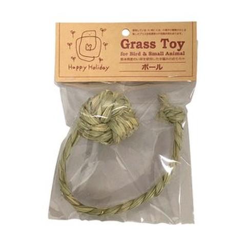 P2 Grass Toy ひも付きボール S