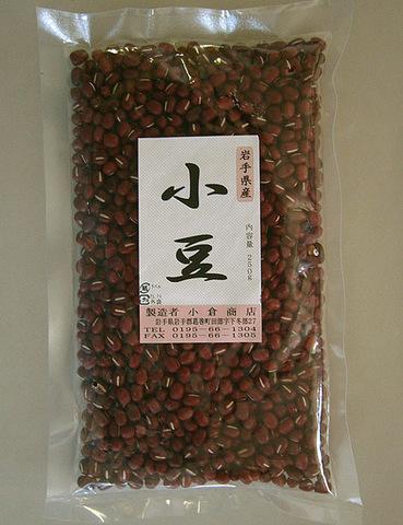 小豆 250g