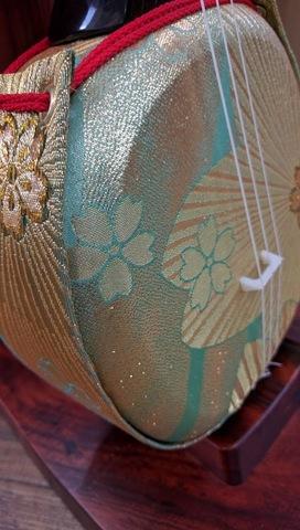 デザイン三線・人工革着物帯、胴、胴巻き