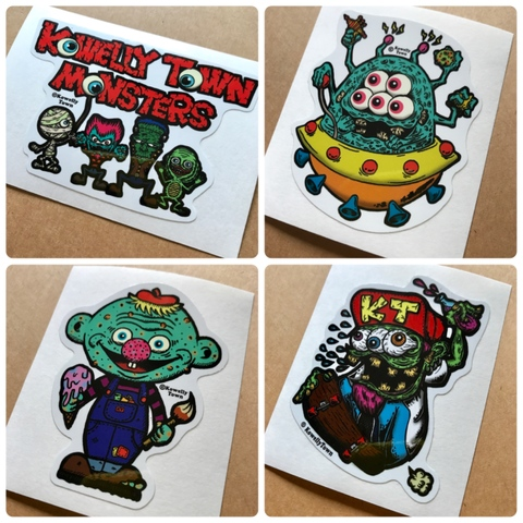 ☆KT MONSTER STICKER ①〜④☆