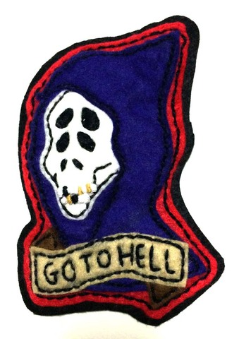☆KowellyTown PATCH GO TO HELL☆