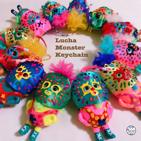 ☆Lucha Monster Keychain part3☆