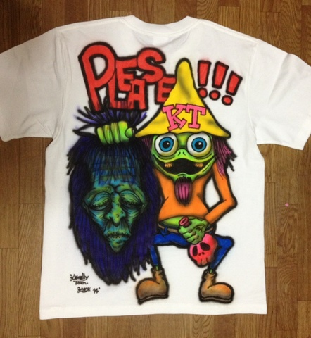 ☆AirBrush T-SHIRTS Please!(M)☆
