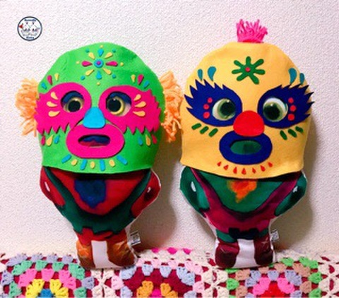 ☆Lucha Monster Pillow Doll☆