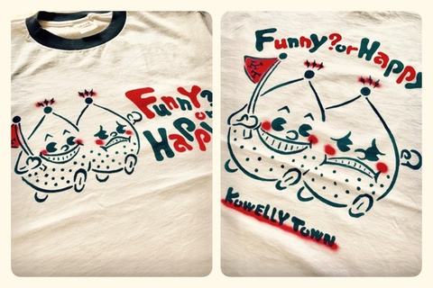 ☆Twins Stencil Ringer T-shirts☆