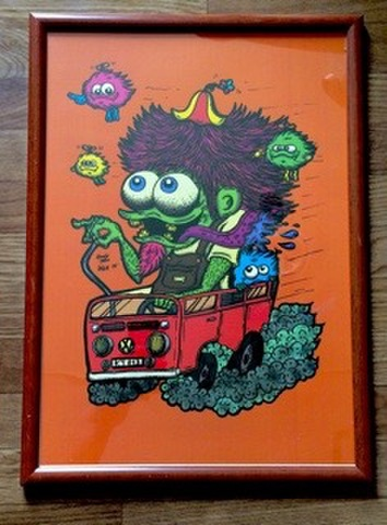 ☆WagenBus Monster Poster☆