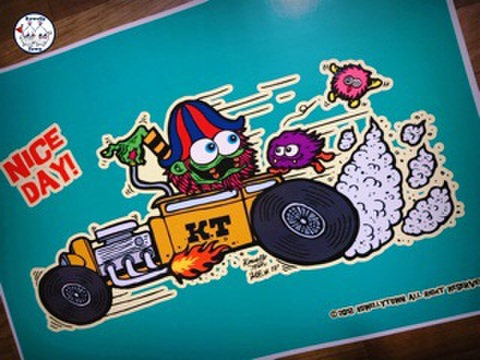 ☆Hotrod Poster☆