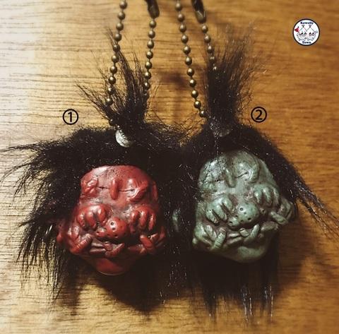 ☆Shurunken Head keychain☆