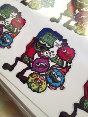 ☆MONSTER PARTY STICKER☆