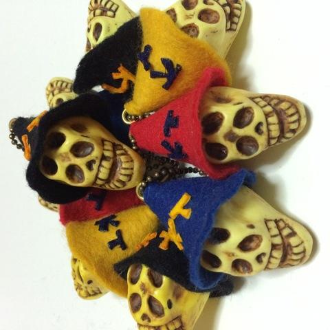 ☆Happy Hat Skull KeyChain☆