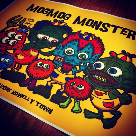 ☆MOGMOG MONSTERS POSTER☆