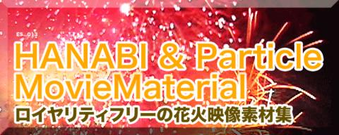 花火とキラキラパーティクルの映像素材【HANABI & Particle MovieMaterial】自由に使えるロイヤリティフリー動画素材集 2,980円