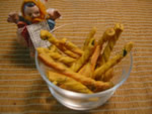 かぼちゃと小豆のプリッツ(50g)