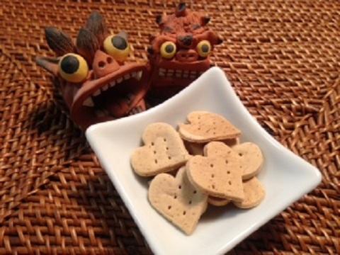 ハトムギのバナナクッキー(15g)